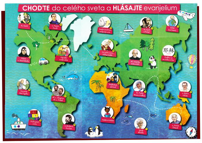 """Roráty 2016 - Téma: misijná ,, Choďte do celého sveta a hlásajte evanjelium...""""; Kliknutím na obrázok sa obrázok zobrazí vo väčšom rozlíšení"""